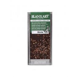 Chocolate Stevia 85% Cacao con Nibs Blanxart