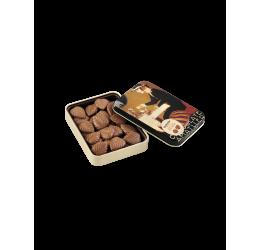 Hojas de Chocolate con leche Amatller