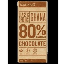 Chocolate Ghana 80% Cacao Blanxart